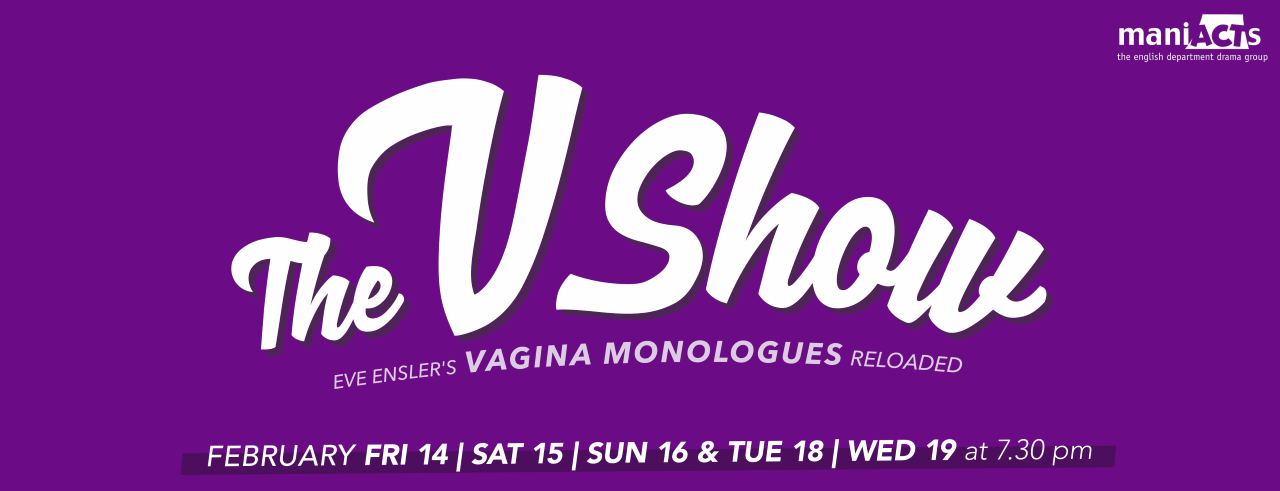 "Coming in February 2020: ""The V Show - Eve Ensler's Vagina Monologues Reloaded"""